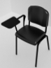 Kol�akl� siyah seminer form sandalyesi Kiralama